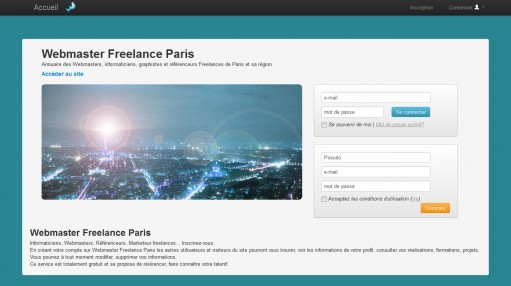 Webmaster Paris Freelance